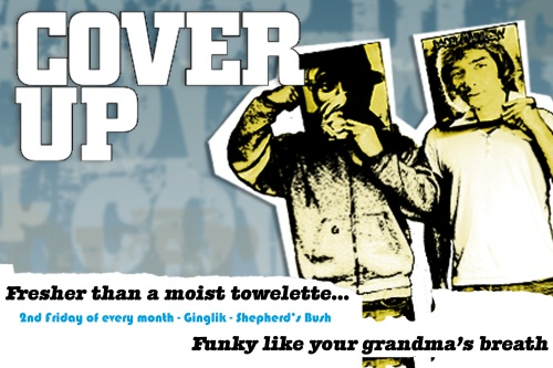 cover up flyer